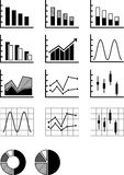 Graphs Stock Photos