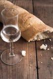 Grappa com pão Imagem de Stock Royalty Free