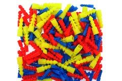 Grappa di collegamento di plastica Fotografia Stock