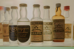 Grappa-Flaschen Lizenzfreies Stockbild