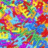 Grappig alfabet Royalty-vrije Stock Foto