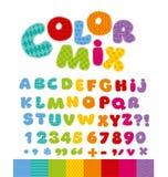 Grappig alfabet voor kinderen Royalty-vrije Stock Fotografie