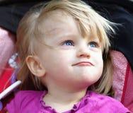 Grappig babymeisje Royalty-vrije Stock Foto's