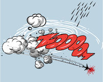 Grappig boek - Actie vector illustratie