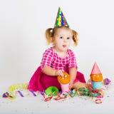 Grappig Carnaval-jong geitje Royalty-vrije Stock Fotografie