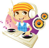 Grappig DJ royalty-vrije stock foto's
