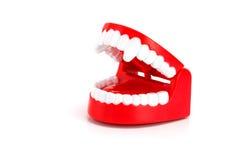 Grappig Dracula-tandenstuk speelgoed Stock Fotografie