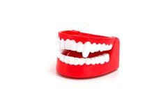 Grappig Dracula-tandenstuk speelgoed Royalty-vrije Stock Afbeelding