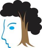 Grappig gezicht vector illustratie