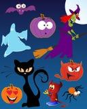 Grappig Halloween royalty-vrije illustratie