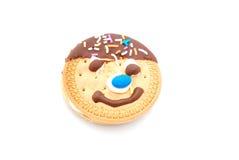 Grappig koekje Stock Afbeelding