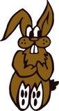 Grappig konijntjesbeeldverhaal Royalty-vrije Stock Afbeelding