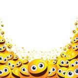 Grappig Smiley Background Klaar voor Tekst en Ontwerp Royalty-vrije Stock Fotografie