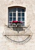 Grappig venster royalty-vrije stock foto