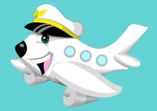grappig vliegtuig royalty-vrije stock fotografie