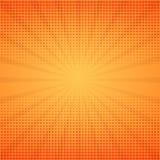 Grappige achtergrond Halftone vectorillustratie Royalty-vrije Stock Foto's