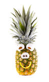 Grappige ananas Stock Foto