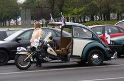 Grappige auto Royalty-vrije Stock Foto's