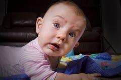 Grappige baby royalty-vrije stock afbeeldingen