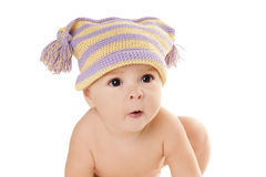 Grappige baby stock foto