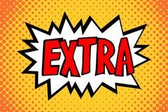Grappige Ballon - Extra Tekst Royalty-vrije Stock Afbeeldingen