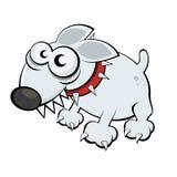 Grappige beeldverhaalhond Stock Foto's