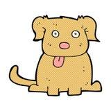 grappige beeldverhaalhond Stock Fotografie