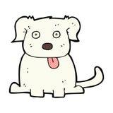 grappige beeldverhaalhond Royalty-vrije Stock Afbeelding