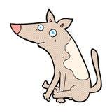 grappige beeldverhaalhond Royalty-vrije Stock Fotografie
