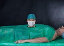 Grappige chirurgieverrichting Royalty-vrije Stock Foto's