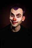 Grappige clown royalty-vrije stock afbeeldingen