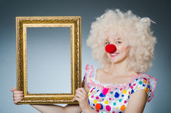 Grappige Clown Royalty-vrije Stock Foto's