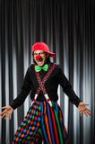 Grappige clown in humoristisch concept Stock Fotografie