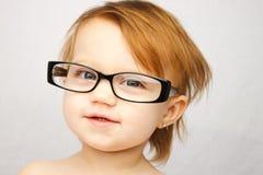 Grappige de Glazen van het kind Stock Afbeelding