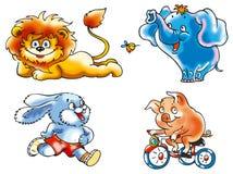 Grappige dieren vector illustratie