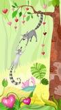 Grappige dieren royalty-vrije illustratie