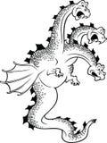 Grappige draak vector illustratie