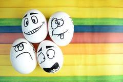 Grappige eieren Stock Foto