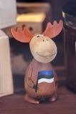 Grappige Estlandse Elanden - herinnering Stock Fotografie