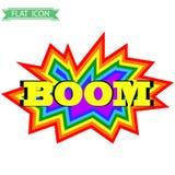 Grappige Explosie Stock Foto