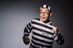 Grappige gevangene stock afbeelding