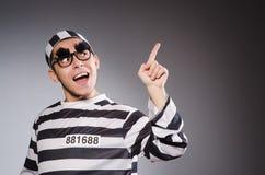 Grappige gevangene royalty-vrije stock fotografie