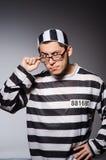 Grappige gevangene royalty-vrije stock foto