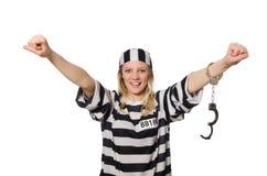 Grappige gevangenis Stock Afbeelding