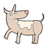 grappige grappige beeldverhaalhond Royalty-vrije Stock Fotografie