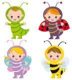 grappige insecten vector illustratie