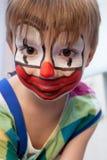 Grappige jonge clown Royalty-vrije Stock Foto