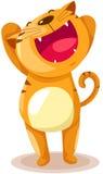 Grappige kat stock illustratie