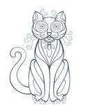 Grappige Kat vector illustratie