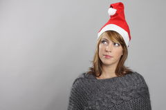 Grappige Kerstmis Stock Foto's